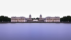 At The Navel (JH Images.co.uk) Tags: london royal navel college riverthames thames le longexposure long exposure symmetry symmetric nisi 10stop 13stops smooth fine art architecture blownout greenwich