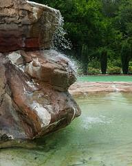 Serenity 07-01-17 (MelenaMe) Tags: serenecustardminiaturegolf serenity waterfall cascade pond fountain rock rocks vinelandnj golf miniaturegolf