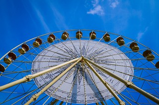 Big wheel keep on turning....