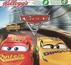 Kellogg's, Disney & Pixar Cars3-Cereal - Deutsche Box (xdecerealx) Tags: cerealien cereals cereal kelloggs cars cars3 multigrain disney pixar lightningmcqueen frühstück breakfast honey honig cornflakes limited editition limitededition deutsch
