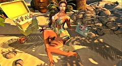 Far from here, on an island of my own, My dreams come true... (Diovia Resident) Tags: female fashion femaleavatar fun bento blog blogger bodymod analogdog avatar secondlife scene scenic spoiled shopping summer sunset sexy model modeling kula addams