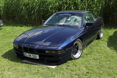 AC Schnitzer's BMW 850i coupé (livadev) Tags: classic car bmw 8 series 850i nineties 90s schnitzer blue coupé tuning ac youngtimer