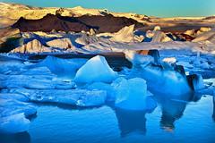 Jokulsarlon Black Beach, Iceland (klauslang99) Tags: jokulsarlon klauslang nature naturalworld iceland ice reflection water atlanticocean landscape