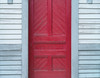 Red door, grey wall (Tim Ravenscroft) Tags: door wall shingles ashuelot newhampshire hasselblad hasselbladx1d x1d