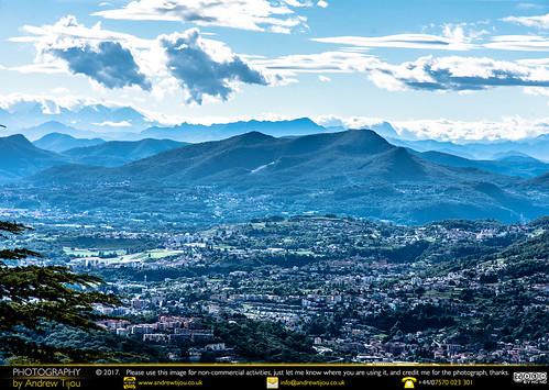 Como and the Blue Alps Beyond