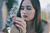 V and flower. (Nicole Favero) Tags: verde valentina love bff people crazy awesome portrait 50mm newlens lens nikon nikond5000 camera forever cute cuteness awesomeness nicolefavero photography flickr followme like girl hair flower hands vsco lightroom effect