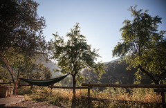 take time to rest (Sitoo) Tags: elpont margalef tarragona acampada amanecer arboles beautyinnature camping campsite dam explore hamaca hammock mañana morning naturaleza nature spain sunrise travel trees vacaiones vacation