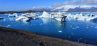 Jökulsárlón gletsjermeer, Iceland ( Explore)