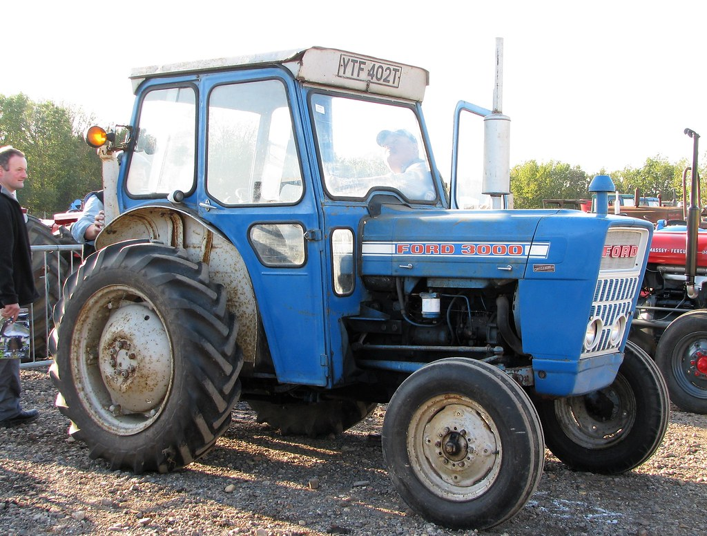 1975 Ford 3000 Tractor : The world s best photos of cheffins flickr hive mind