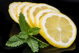 Mint And Lemon are good for your health
