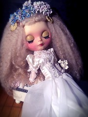 Blythe-a-Day August#4. Just Do It: Ava as Young Miss Havisham