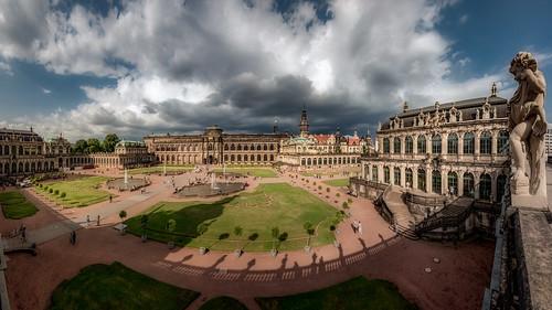 Zwinger palace panorama