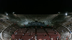And We Have Just One World, But We Live In Different Ones (○gus○) Tags: nikond750 240700mm ƒ28 180 verona arena night notte opera beethoven architettura architecture ʂ arenadiverona