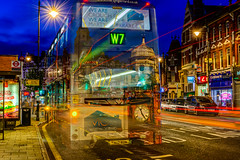 We are Crouch End (George Plakides) Tags: crouchend w7 lighttrails bus