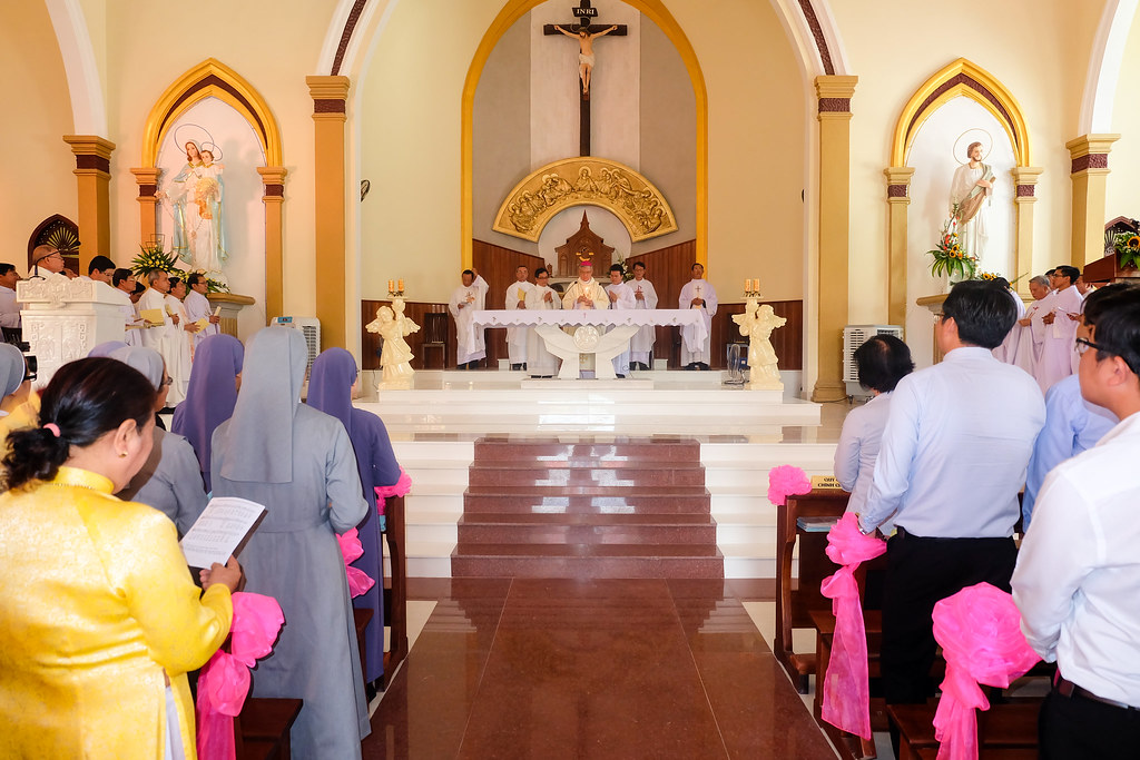 Thánh lễ tạ ơn khánh thành nhà thờ Hòa Cường – Giáo phận Đà Nẵng - Ảnh minh hoạ 41