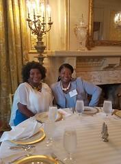 Roxanne Saunders and Joy Wade