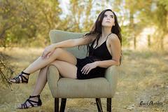 Alyssia Marie (erickdiaz2477) Tags: black romper dress beauty belleza latin latina model modelo fashion glamour canon seat seatting sentada location