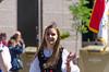 German-American Parade 2017 (spablab) Tags: chicago illinois lincolnsquare german american germanamerican festival fest parade octoberfest oktoberfest madchen girl waving