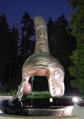Vancouver Aquarium (mademoisellelapiquante) Tags: vancouverbc vancouver britishcolumbia canada orca whale sculpture aquarium ocean