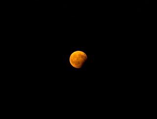 Eclipse partielle de lune aout 2017