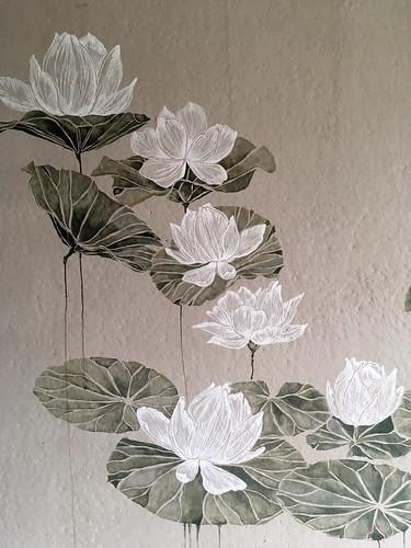 Näckrosor av konstnär Matilda Pettersson