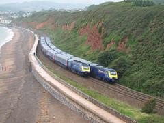 HST Crossing at Langstone Rock (Oz_97) Tags: greatwesternrailway dawlish 43169 43029 431 2 22 43122 43163