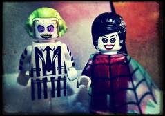 That Man of Mine (LegoKlyph) Tags: lego custom fun cartoon beetlejuice lydia movie ghost haunt afterlife deetz mini figure bricks blocks