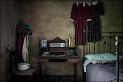 Abandoned bedroom. (ducatidave60) Tags: fuji fujifilm fujinonxf23mmf14 abandoned decay dereliction urbandecay urbex