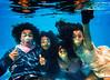 johnsons4 (eclecticritic) Tags: underwater portrait familyportrait underwaterportrait pool swimming bubblegum
