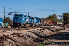 IC 2464 | GE C40-8W | CN Fulton Subdivision (M.J. Scanlon) Tags: manifest mixedfreight cna43271 cn a43271 cnfultonsub woodstock canadiannational wc7508 ic2464 ic2466 ic1004 emd sd70 sd45 c408w lmsx739 lms739 lmsx737 lms737 bn6508 wc6508 memphis tennessee digital transportation merchandise commerce business wow haul outdoor outdoors move mover moving scanlon canon eos engine locomotive rail railroad railway train track horsepower logistics railfanning steel wheels photo photography photographer photograph capture picture trains railfan