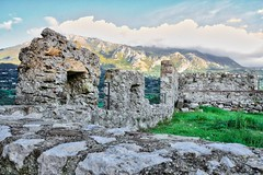 Ruins at Quaglietta, Italy (f4b1u5) Tags: ruins stones landscape landscapephotography sky quaglietta italy grass abandonedtown ghosttown