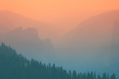 Wildfire Haze. Yosemite National Park, USA (Marji Lang Photography) Tags: america beautyinnature california day famousplace internationallandmark mariposacounty mariposafire mercedcounty nationallandmark nonurbanscene northamerica outdoors pinnaclerockformation publicpark scenicsnature traveldestinations travelphotography us usa unitedstates unitedstatesofamerica yosemite yosemitenationalpark yosemitevalley atmosphere calm colorimage colors composition environment environmental firesmoke fog foggy foggyweather forest freedom haze hazy hiking horizontal hues idyllic landscape landscapephotography mist misty mood mountain mountainrange mountains nationalpark natural naturalenvironment nature naturephotography nopeople nobody peace peaceful photography silhouette smoke smoky summer summerfires tones tranquility travel traveldestination trees valley weather