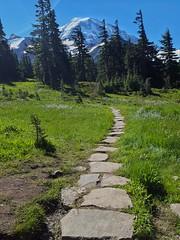 Summerland (Dan Nevill) Tags: wonderland rainier wonderlandtrail mtrainier mountrainier nationalpark backpacking camping trail wilderness alex kieth hiking wildflowers washington pacificnorthwest pnw