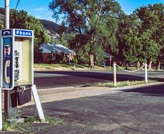 (MatthwJMartin) Tags: phone vintage pentax 28mm canon trees road town utah usa urban sky color roads rural