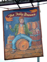 Jolly Brewer, Stamford (beery) Tags: pub stamford lincolnshire england sign signboard jollybrewer