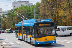 1658 - 2А (CometBG) Tags: sofia vehicle outdoor trolleybus trollino skoda solaris