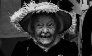 102 years old lady