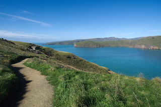 Godley head track view