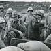 Fifth Marine Division Command Post, Iwo Jima, 1945