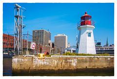 Coast Guard Base Lighthouse (Timothy Valentine) Tags: lighthouse 2017 clichésaturday 0817 vacation saintjohn newbrunswick canada ca harbor
