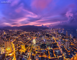 penang town,