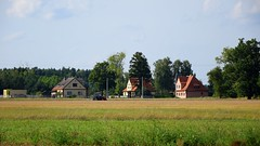 summer moods (JoannaRB2009) Tags: countryside landscape view nature field building architecture house border lowersilesia dolnyśląsk polska poland summer mood