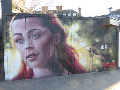 Irony graffiti, Camden (duncan) Tags: graffiti camden irony