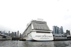 Manhattan Cruise Terminal Norwegian Breakaway (Terese Loeb) Tags: cruiseship ship norwegianbreakaway manhattancruiseterminal midtownmanhattan newyorkcity newyork vacation