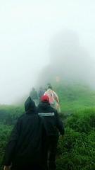 walking on cloud