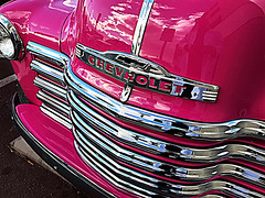 grill (johnsinclair8888) Tags: chrime pink lasvegas iphone johndavis car grill chevy