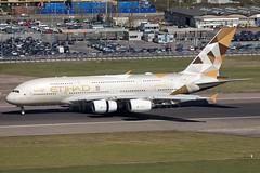 Etihad Airbus A380-800 A6-APE (atcogl - ATC @ YYZ) Tags: lhr egll heathrow london uk britain middlesex unitedkingdom greatbritain aircraft airliner airplane plane aeroplane aviation avion flugzeug widebody super airbus a380 a380800 a388 canon eos 5dmarkiv 100400f4556lismarkii quad landing ey etd etihad a6ape