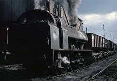 NCB 0-6-0ST 58 at Derwenthaugh (TrainsandTravel) Tags: england angleterre standardgauge steamtrains voienormale trainsavapeur dampfzug normalspur industrialrailway coal chemindeferindustriel charbon industriebahn kohle ncb nationalcoalboard countydurham derwenthaugh 060st 58