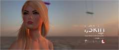 vega at seaside (Objective Design) Tags: secondlife sl illustration sun sunrise catwa maitreya slink belleza mesh head bento hair makeup virtual 3d catya lara iskin imesh magika skin shape eyes eye virtualworld photoshop cs5 2d avatar