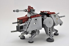 AT-TE / Teaser (Inthert) Tags: lego star wars moc atte walker all terrain tactical enforcer midi scale clone legs walk poseable moveable